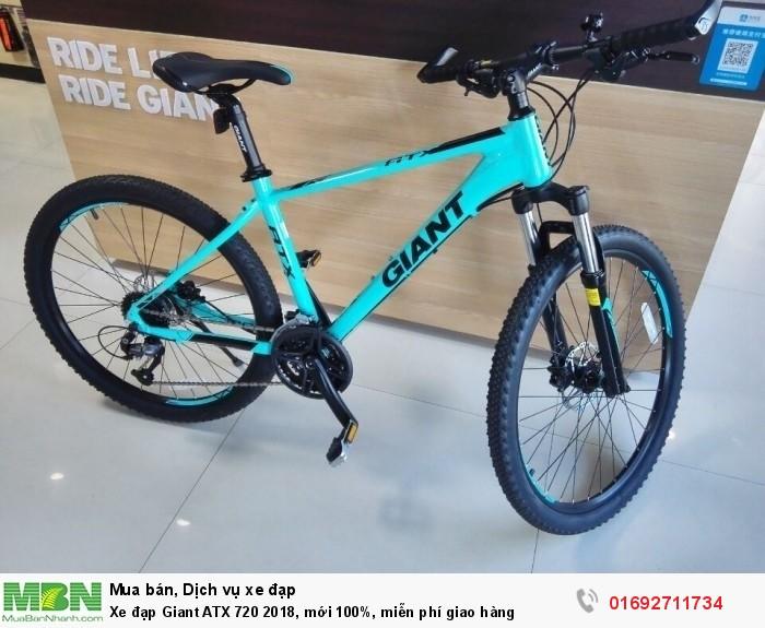 Xe đạp Giant ATX 720 2018, mới 100%, miễn phí giao hàng, màu Xanh ngọc