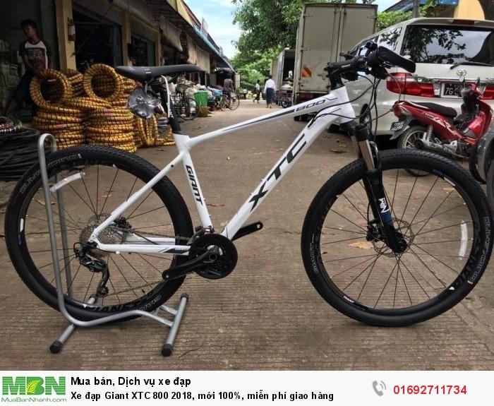 Xe đạp Giant XTC 800 2018, mới 100%, miễn phí giao hàng, màu Trắng