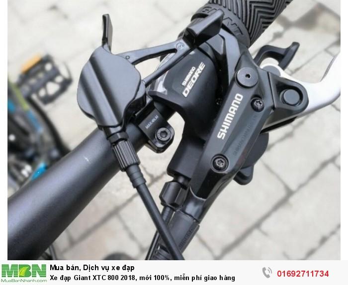 Tay đề: Shimano Deore SL-M610 3x10-Speed