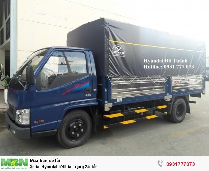 Xe tải Hyundai IZ49 tải trọng 2.5 tấn - Chỉ cần trả trước 80 triệu giao xe ngay