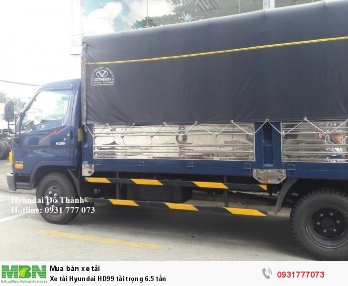 Xe tải Hyundai HD99 tải trọng 6.5 tấn - Hỗ trợ trả góp lãi suất thấp