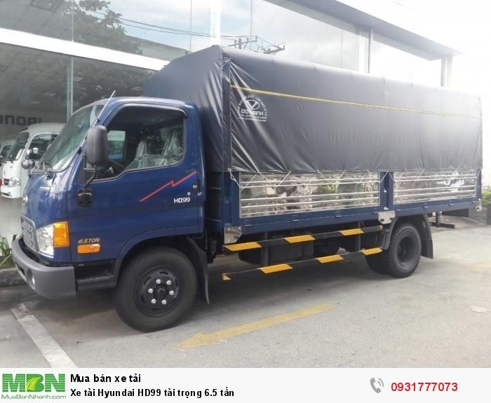 Xe tải Hyundai HD99 tải trọng 6.5 tấn