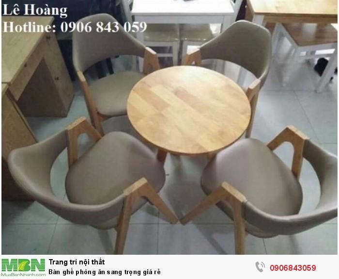 Bàn ghế phòng ăn sang trọng giá rẻ4