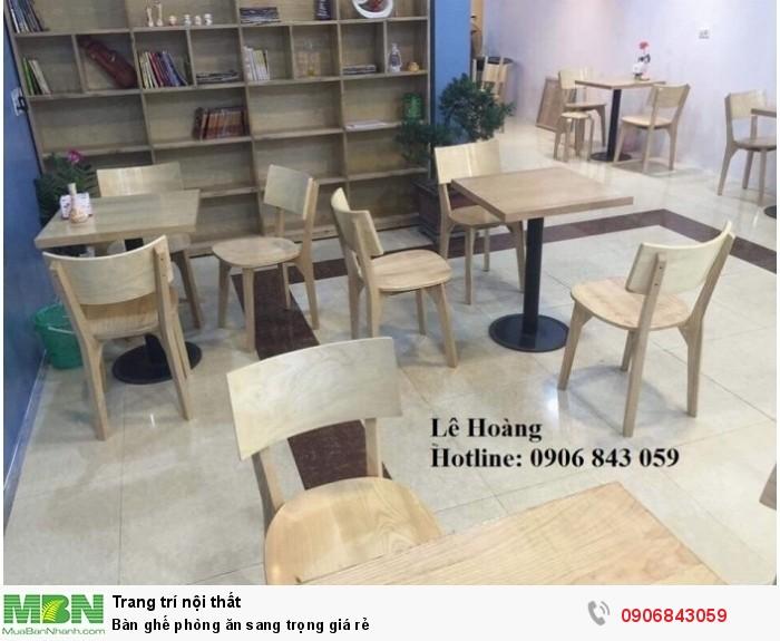 Bàn ghế phòng ăn sang trọng giá rẻ6