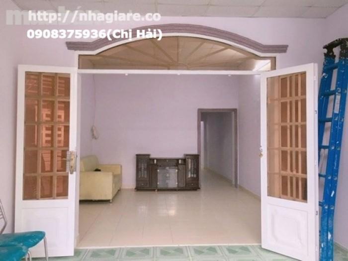 Bán nhà hẻm 115 Phạm Hữu Lầu, Phú Mỹ, Quận 7, Dt 4x20m.