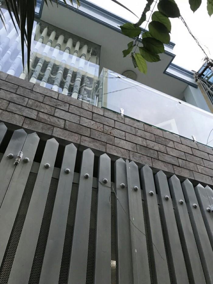 Bán Nhà hẻm 108 Đường số 1, phường 16, quận Gò Vấp, 4 x 10,7m, 1 Trệt + 1 Lầu, giá 2,47 tỷ