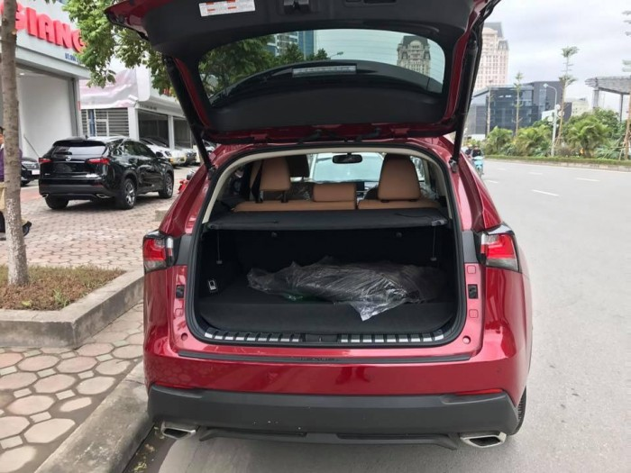 Lexus NX200t màu đỏ, nâu nhập khẩu Mỹ giao ngay.