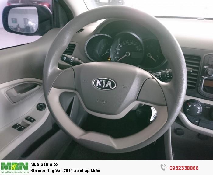 Kia morning Van 2014 xe nhập khẩu 3