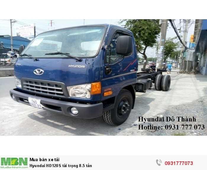 Hyundai HD120S tải trọng 8.5 tấn - Hotline: 0931777073 (24/24)