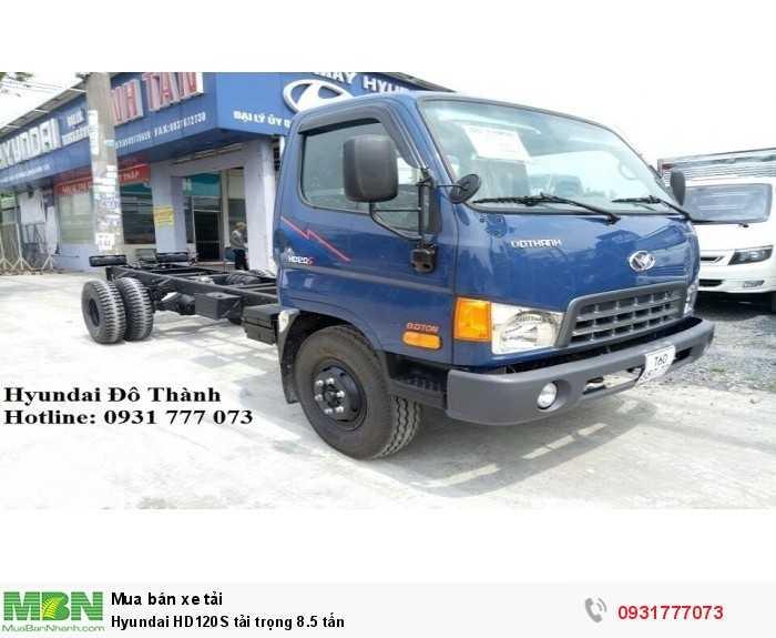 Hyundai HD120S tải trọng 8.5 tấn - Hỗ trợ giao xe trong tháng