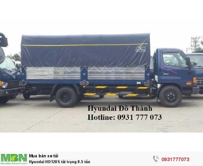 Hyundai HD120S tải trọng 8.5 tấn