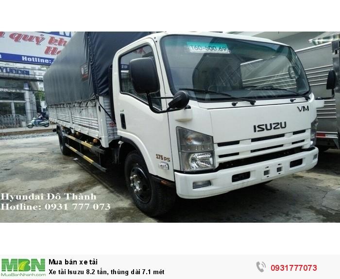 Xe tải Isuzu 8.2 tấn, thùng dài 7.1 mét 0
