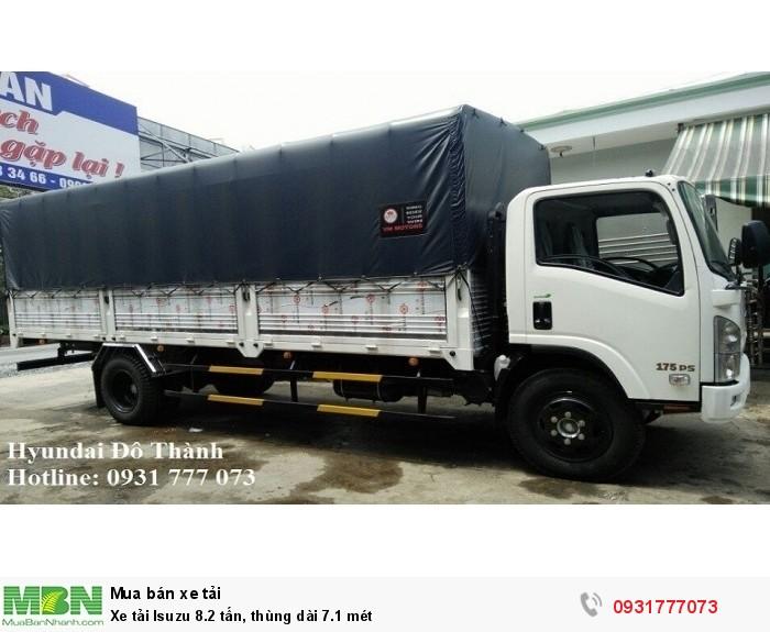 Xe tải Isuzu 8.2 tấn, thùng dài 7.1 mét 1