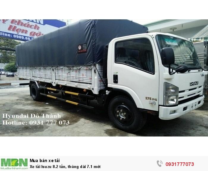 Xe tải Isuzu 8.2 tấn, thùng dài 7.1 mét 2