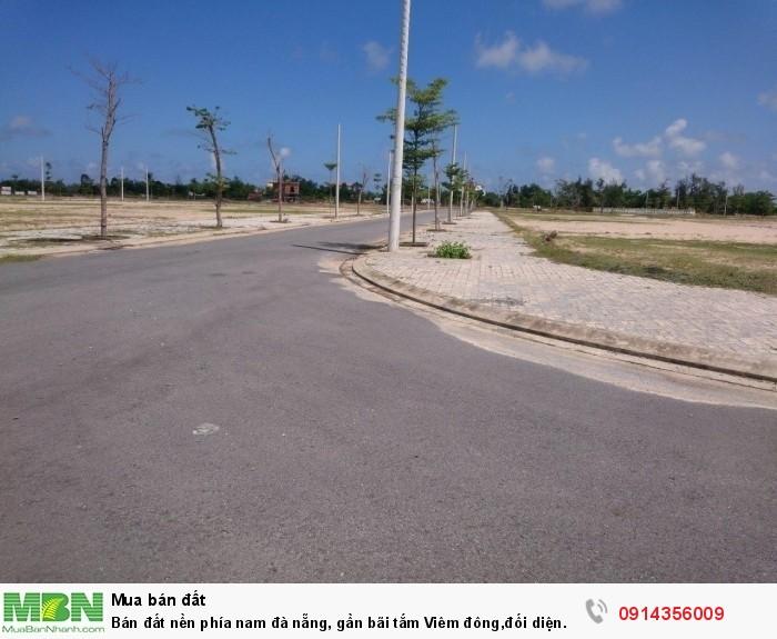 Bán đất nền phía nam đà nẵng, gần bãi tắm Viêm đông,đối diện Cocobay
