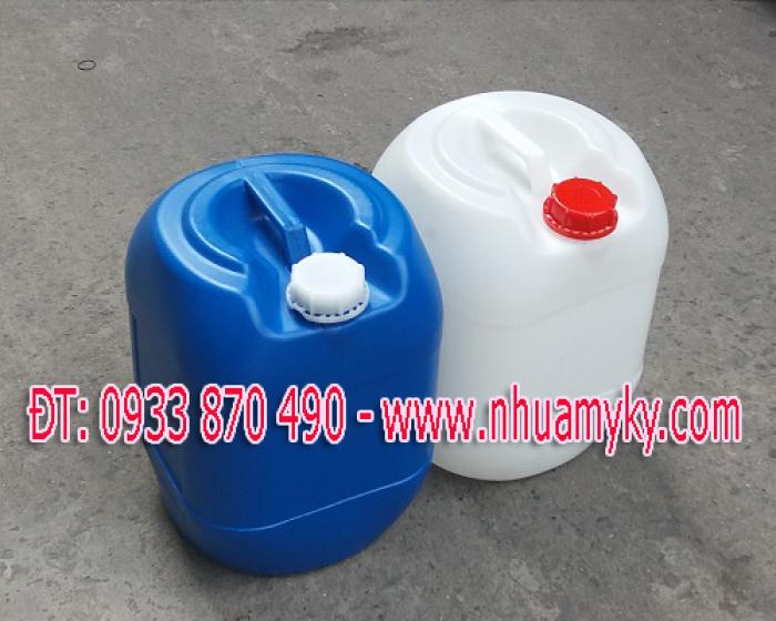 Can nhựa sản xuất 20 lít, 30 lít. Can nhựa nhập khẩu 20 lít, 30 lít.