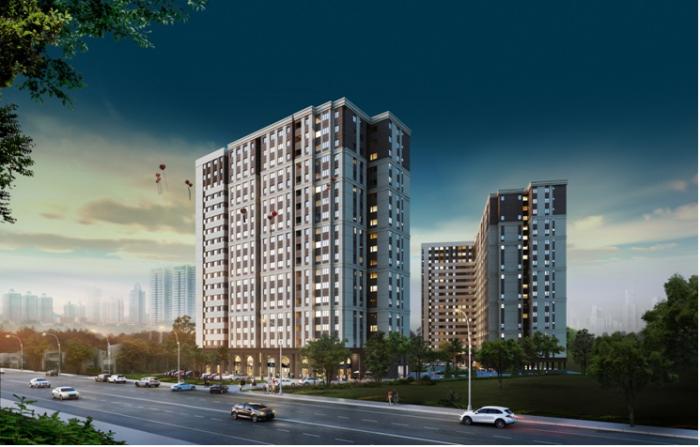 Bán căn hộ cao cấp, hỗ trợ trả góp k lãi suất, mặt tiền ql13, thanh toán bàn giao nhà 50% nội thất