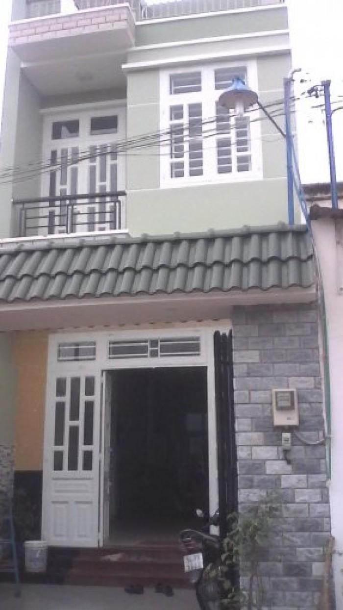 Cần bán nhà 1 trệt 1 lầu, chính chủ SHR trên đường Huỳnh Văn Trí, Bình Chánh