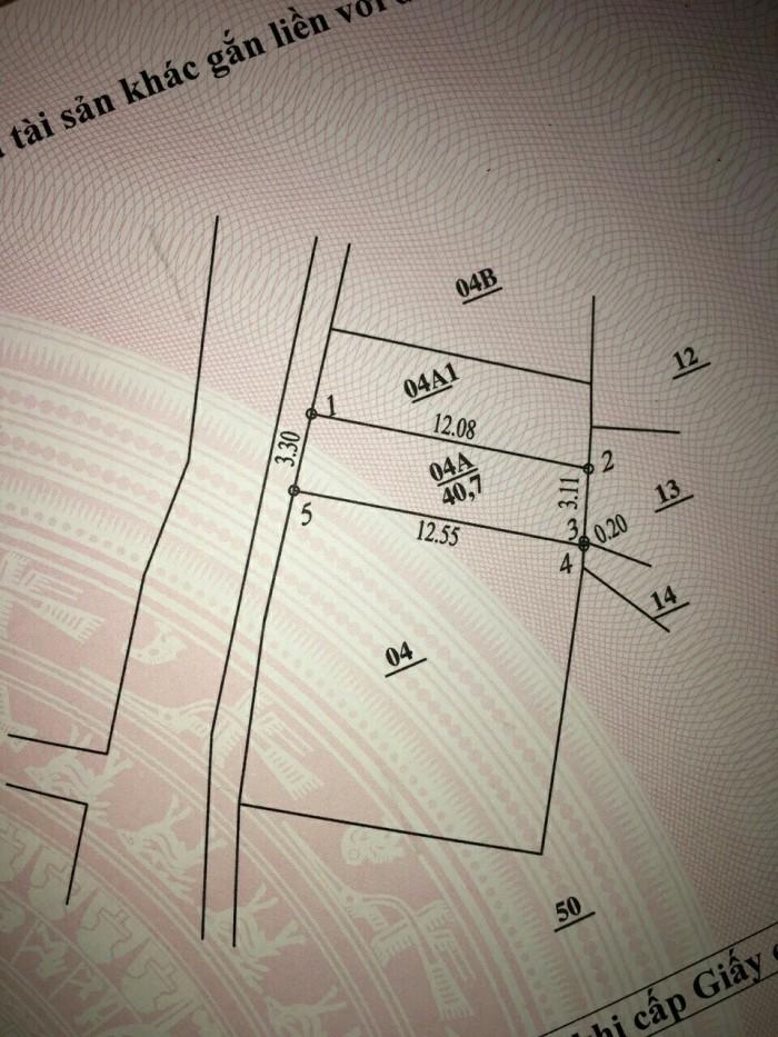 Bán đất La Khê -Hà Đông, 40,8m2, oto đỗ cửa