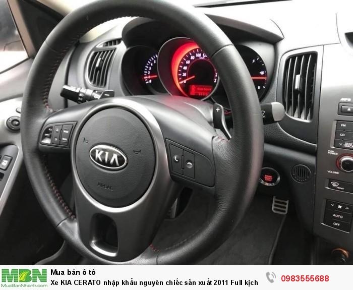 Xe KIA CERATO nhập khẩu nguyên chiếc sản xuất 2011 Full kịch đồ chính chủ Hà Nội mua từ mới cứng. 5