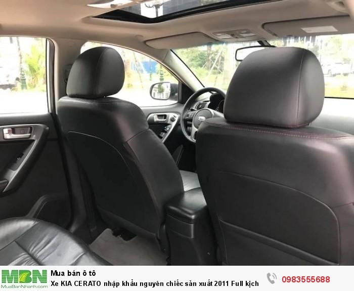 Xe KIA CERATO nhập khẩu nguyên chiếc sản xuất 2011 Full kịch đồ chính chủ Hà Nội mua từ mới cứng. 18