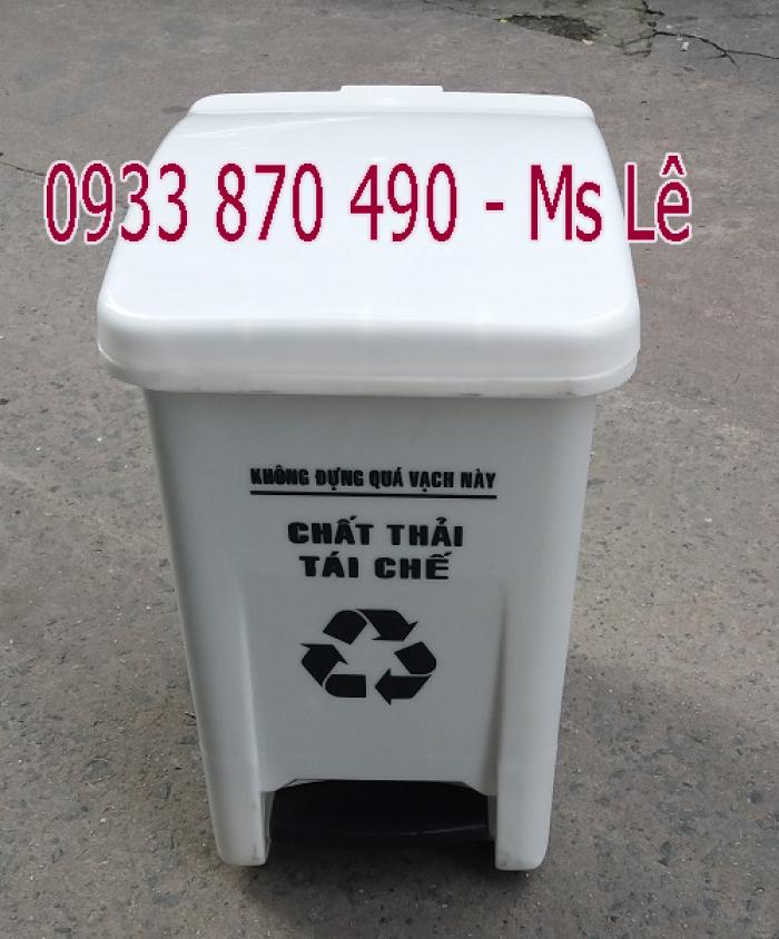 Công ty sản xuất thùng rác 15 lít, 20 lít. Thùng nhựa chứa rác thải y tế