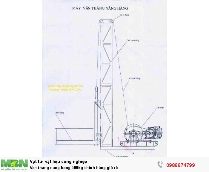 Van thang nang hang 500kg chính hãng giá rẻ9