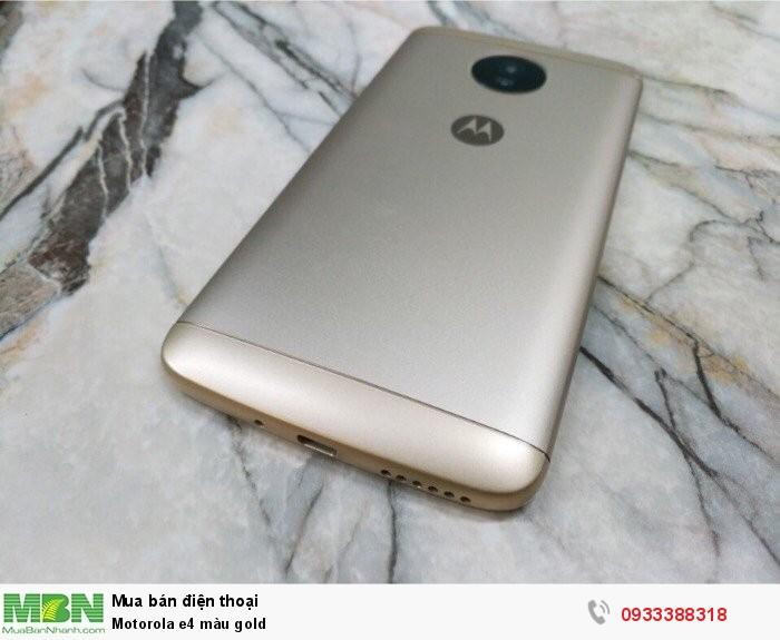Motorola e4 màu gold