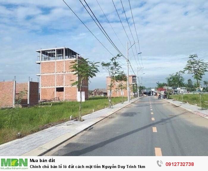 Chính chủ bán lỗ lô đất cách mặt tiền Nguyễn Duy Trinh 1km