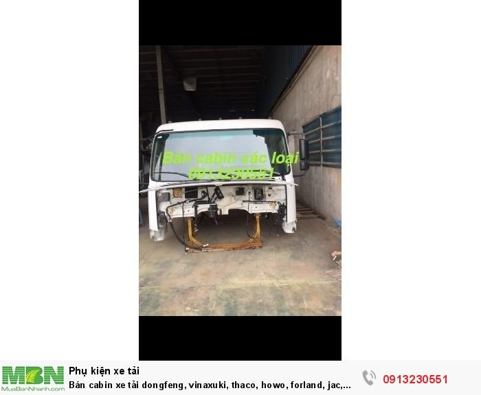 Bán cabin xe tải dongfeng, vinaxuki, thaco, howo, forland, jac, camc, dongfeng, ollin, auman