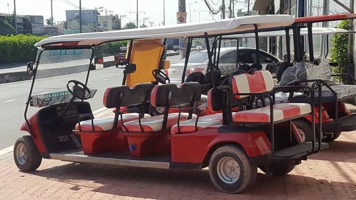 Xe điện du lịch ezgo 11 chỗ