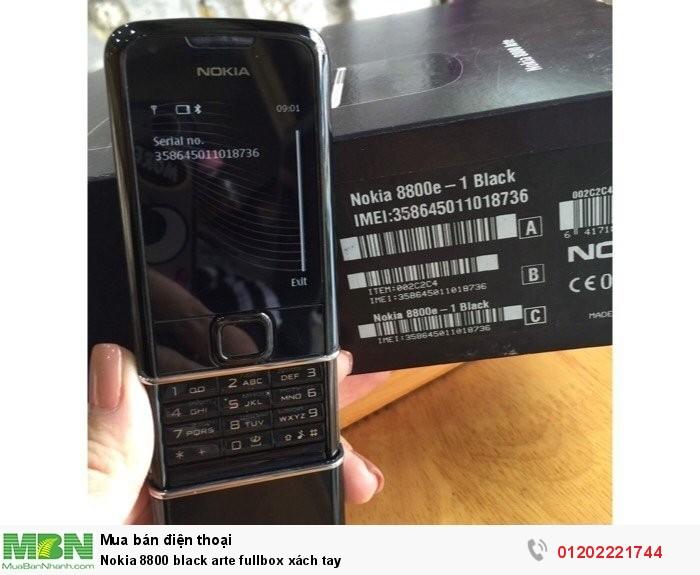 Nokia 8800 black arte fullbox xách tay