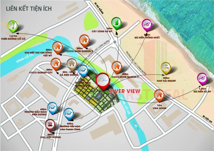 Bán đất dự án khu đô thị Đại Dương Xanh– đất biển bắc Hội An