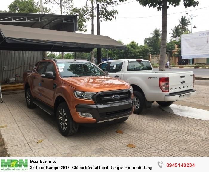 Xe Ford Ranger 2017, Giá xe bán tải Ford Ranger mới nhất  Ranger XLS tại Tây Ninh.