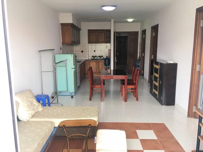 Cho thuê căn hộ 75m2 2PN- nội thất đầy đủ, nhà sạch sẽ.