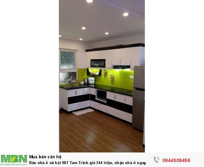 Bán nhà ở xã hội 987 Tam Trinh giá 344 triệu, nhận nhà ở ngay