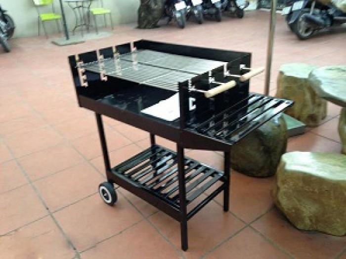 Bếp nướng than hoa khung thép dùng ngoài trời Acter Tree CK350, bếp nướng quân đội8