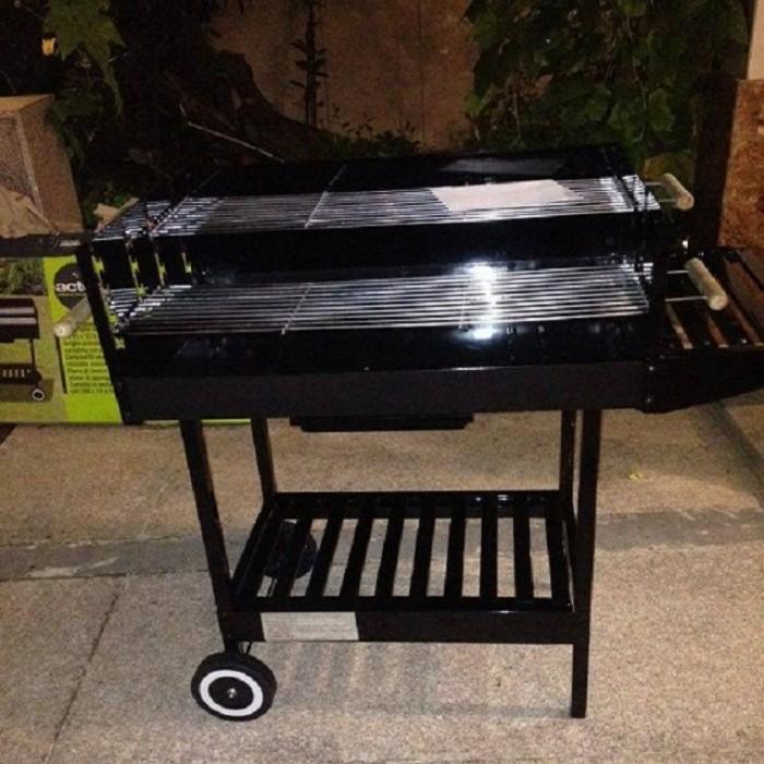 Bếp nướng than hoa khung thép dùng ngoài trời Acter Tree CK350, bếp nướng quân đội5
