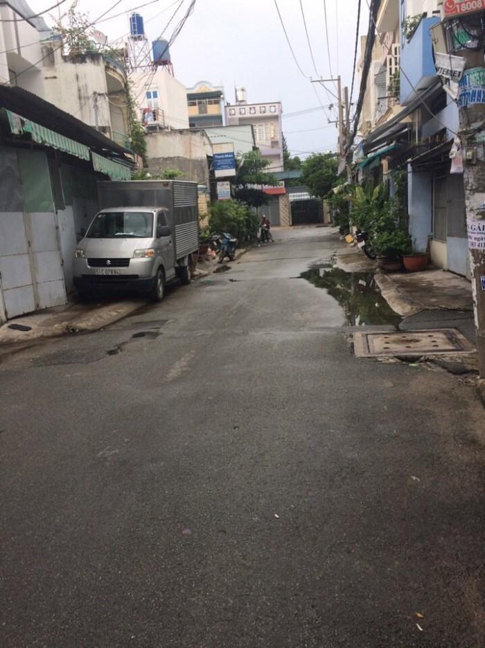 Bán nhà HXH 6m Lê Đình Thám, Tân Quý,Tân Phú,  gần đường Tân Quý. Diện tích 4x12, 1 lửng