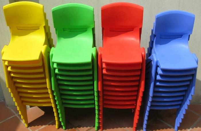 Ghế nhựa đúc cao cấp dành cho các bé tại các trường mầm non15