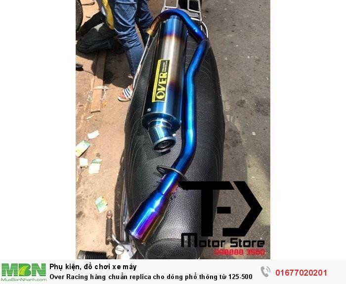 Over Racing hàng chuẩn replica cho dòng phổ thông  từ 125-500cc