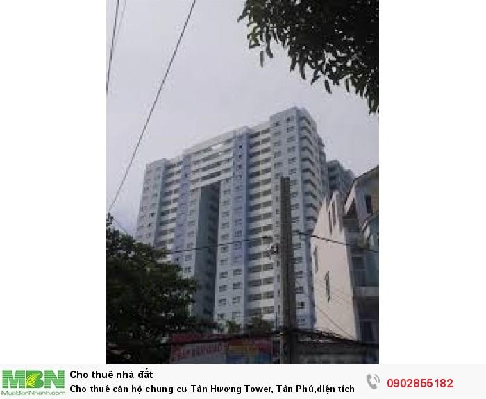 Cho thuê căn hộ chung cư Tân Hương Tower, Tân Phú,diện tích 80m2, 2pn, 2wc