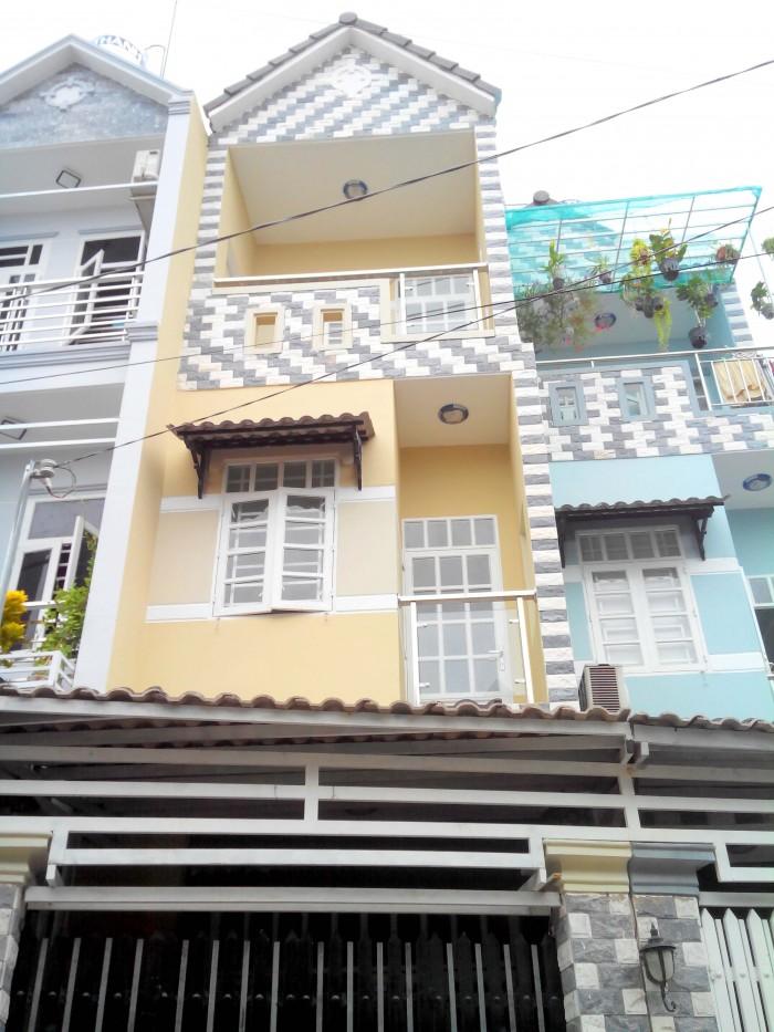 Bán nhà hẻm nhựa 4m thông, đường Vườn Lài, Phú Thọ Hòa, Tân Phú.