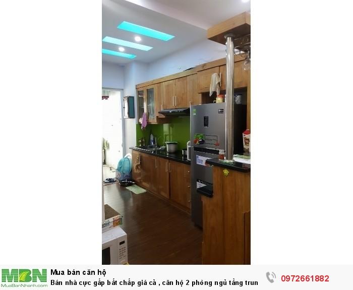 Bán nhà cực gấp bất chấp giá cả , căn hộ 2 phòng ngủ tầng trung