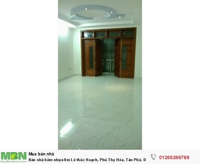 Bán nhà hẻm nhựa 8m Lê thúc Hoạch, Phú Thọ Hòa, Tân Phú. Diện tích 3.95x14.5, Cấp 4 Giá 3.55 tỷ TL