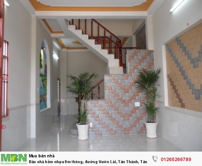 Bán nhà hẻm nhựa 8m thông, đường Vườn Lài, Tân Thành, Tân Phú. Diện tích 4.x14, đúc 1 lầu, Giá 4.1 tỷ TL