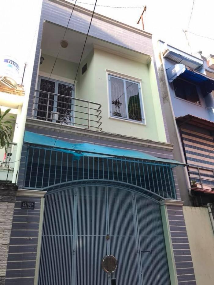 Cần tiền mua nhà khác, bán nhà ngay trung tâm, 58m2 Hoàng Hoa Thám, P7, PN