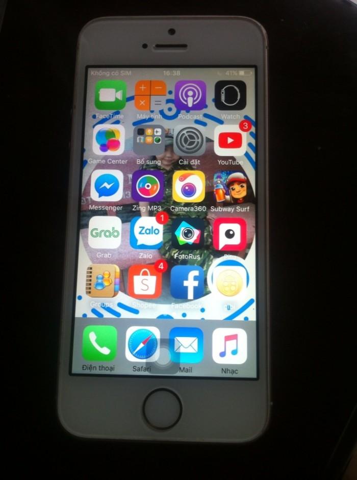 Iphone 5s lên vỏ SE trùng IM