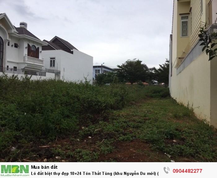 Lô đất biệt thự đẹp 10×24 Tôn Thất Tùng (khu Nguyễn Du mới) (Có Ảnh)