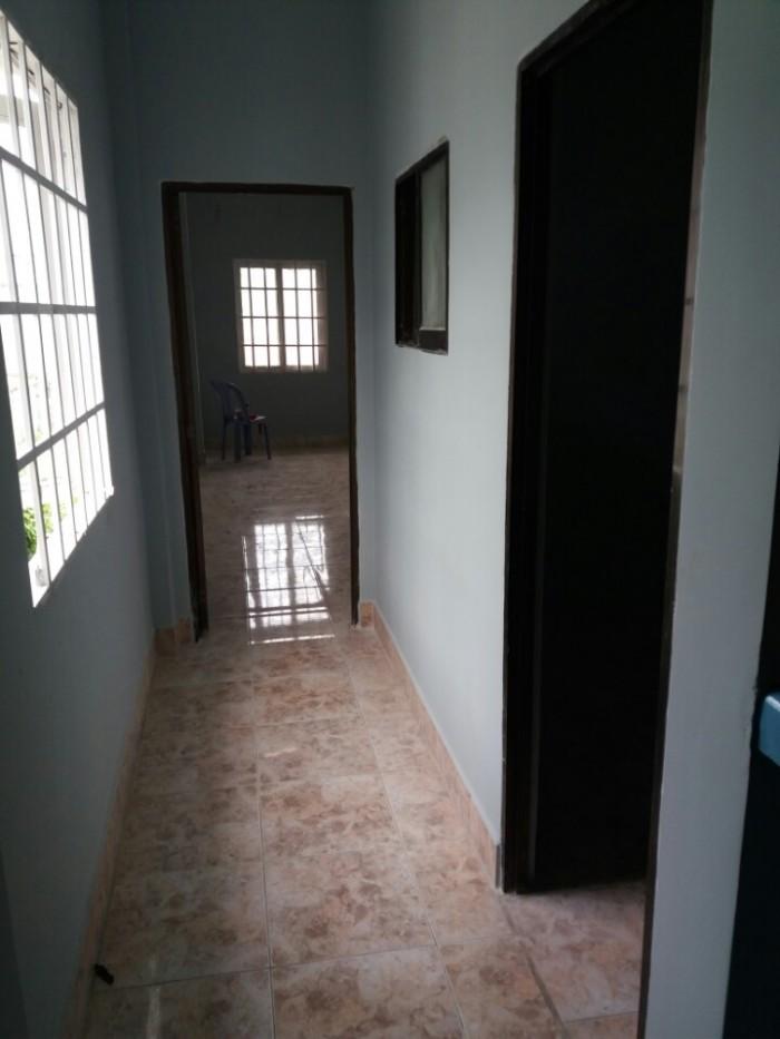 Nhà SHR 68m 1 trệt,1 lầu đúc đường 21 thu duc